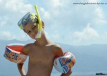 snorkelling bambini